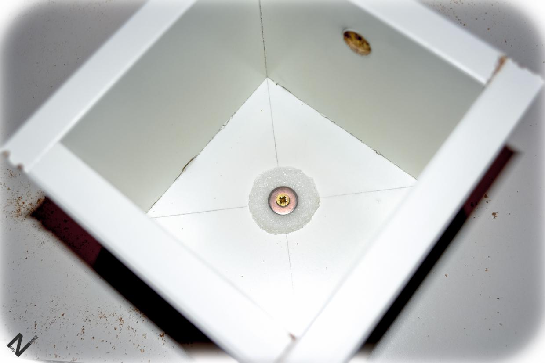 Die Nordzimmer-Betonlampe